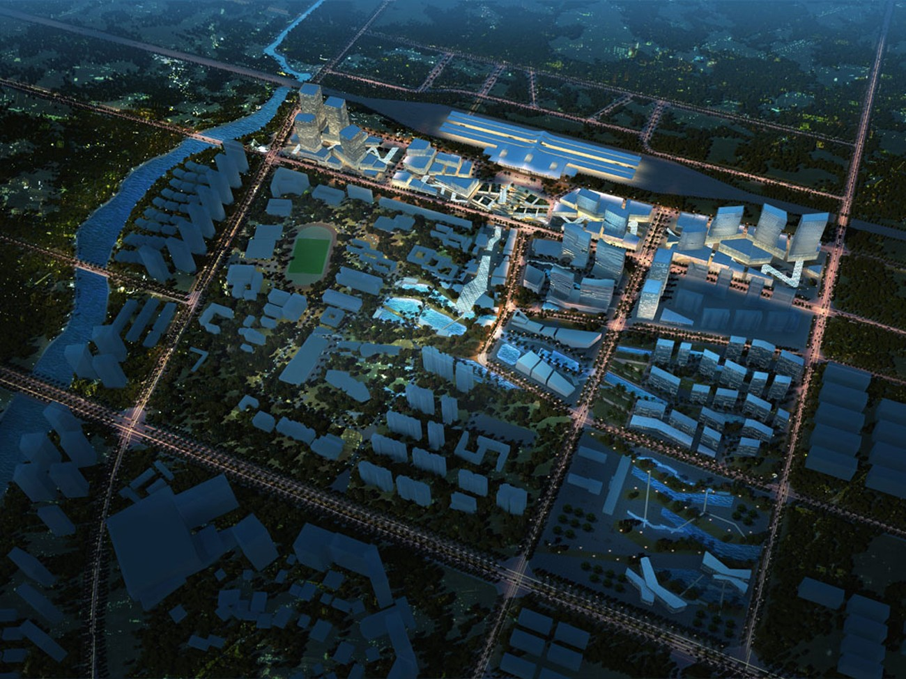 Sanya High Speed Rail Precinct